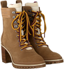 Camel TOMMY HILFIGER Veterboots SPORTY OUTDOOR MID HEEL LACE UP  - small
