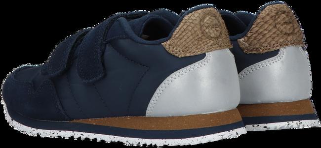 Blauwe WODEN Lage sneakers NOR SUEDE  - large
