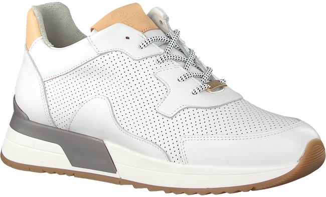 Witte FRED DE LA BRETONIERE Lage sneakers 101010133 FRS0632  - large