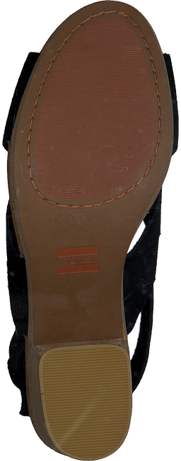 Zwarte TOMS Sandalen IBIZA  - large