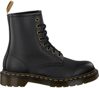 Zwarte DR MARTENS Veterboots 1460 VEGAN  - medium