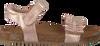 Roze CLIC! Sandalen 8969 - small