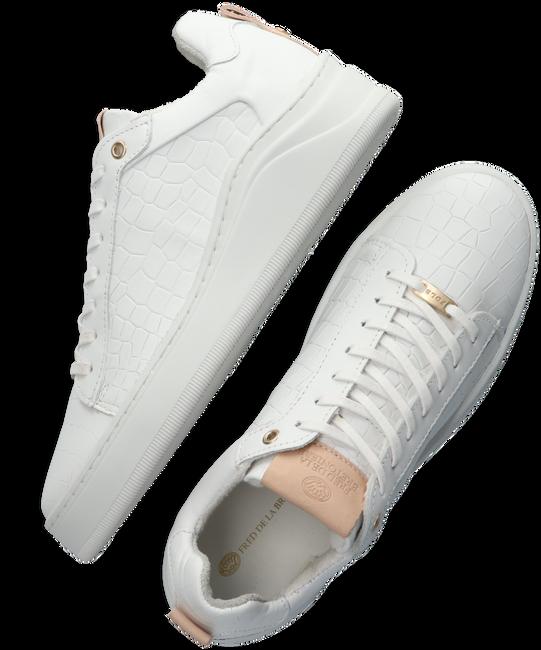 Witte FRED DE LA BRETONIERE Lage sneakers 101010216 - large