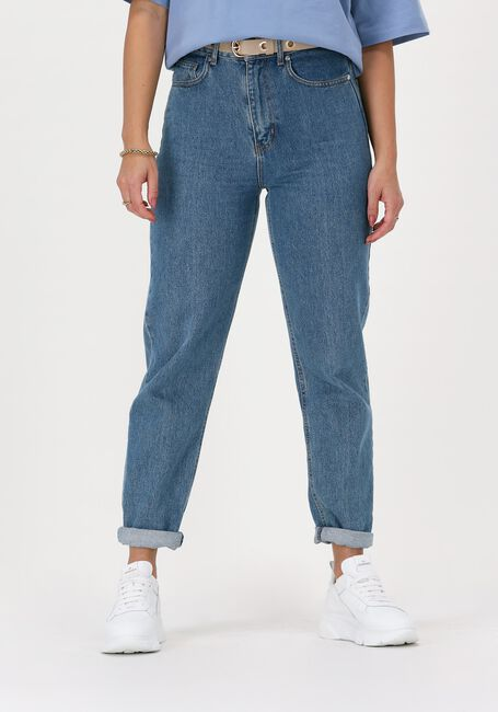 Blauwe JUST FEMALE Mom jeans STORMY JEANS 0104 - large