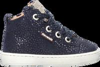 Blauwe DEVELAB Hoge sneaker 41602  - medium