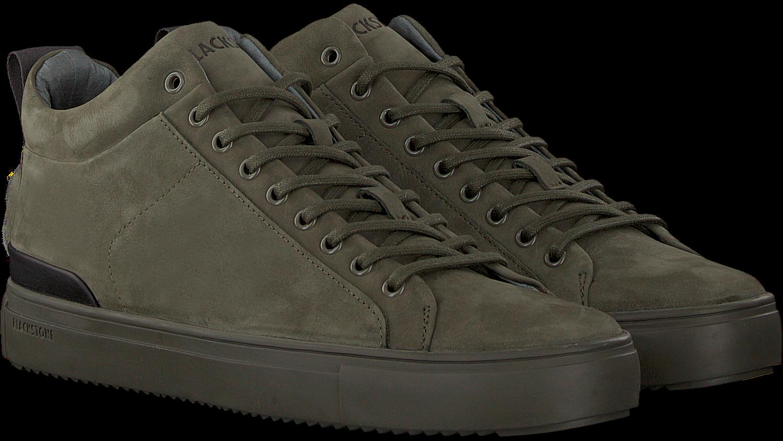 Groene BLACKSTONE Hoge sneaker SG19