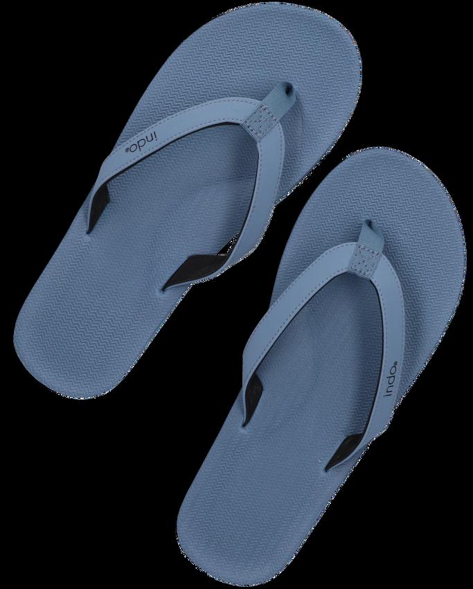 Blauwe INDOSOLE Teenslippers ESSENTIAL FLIP FLOP  - larger