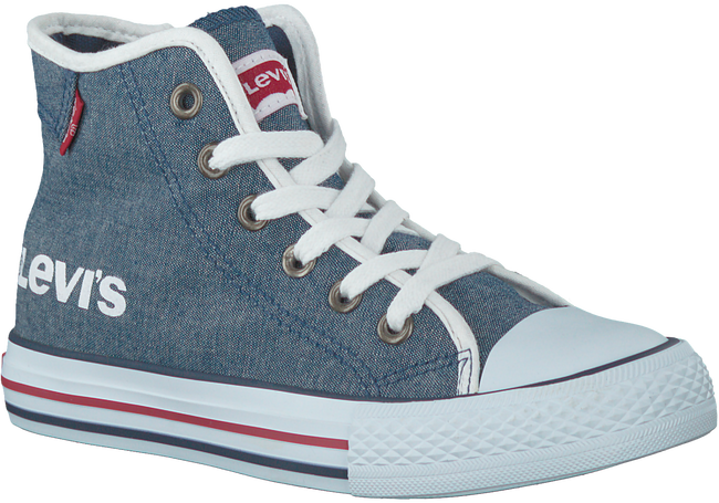 LEVI'S SNEAKERS DUKE MG MID CHAMBRAY KIDS - large