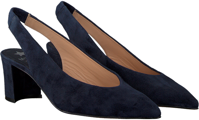 Blauwe MARIPE Pumps 26653  - large