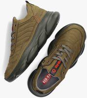 Groene RED-RAG Lage sneakers 13541  - medium