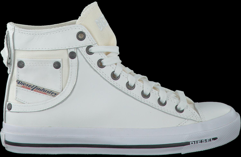 Chaussures De Sport Diesel Witte Magnete Iv W D'exposition 1Y5Kxg