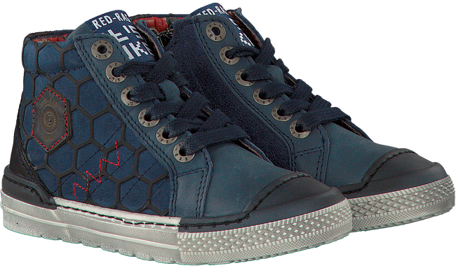 Blauwe RED-RAG Sneakers 15467  - large
