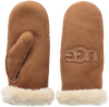 Cognac UGG Handschoenen HERITAGE LOGO MITTEN - small