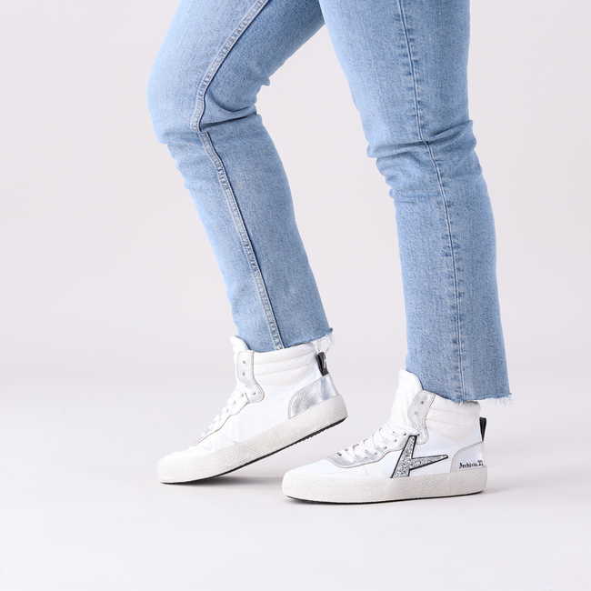 Witte ARCHIVIO,22 Hoge sneaker DEVILLE MID - large