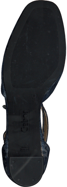 Blauwe GABOR Pumps 470.1 - large