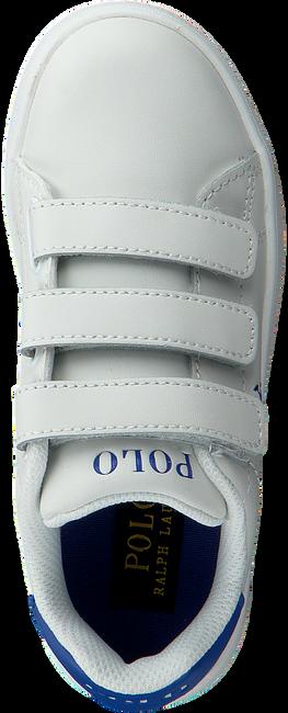 Witte POLO RALPH LAUREN Sneakers QUILTON EZ - large