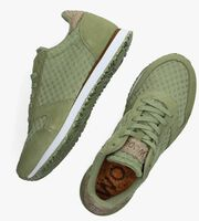 Groene WODEN Lage sneakers YDUN SUEDE MES II  - medium