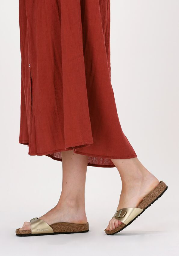 Gouden BIRKENSTOCK Slippers MADRID BF GOLD NARROW  - larger