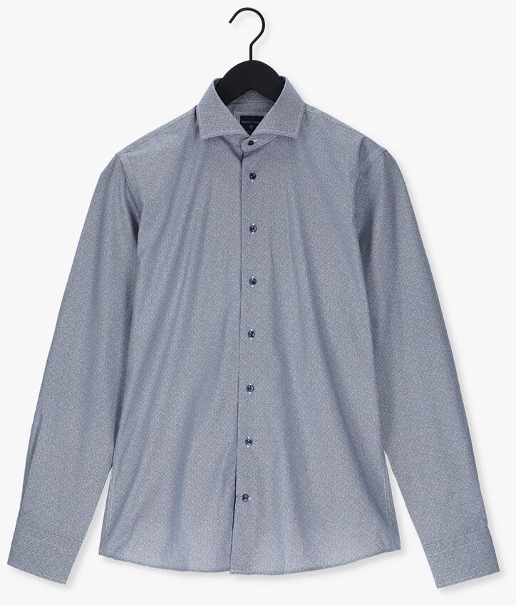 Blauwe PROFUOMO Klassiek overhemd HANDLEY - larger