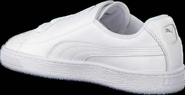Witte PUMA Sneakers BASKET CRUSH EMBOSS  - large