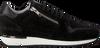 Zwarte RED-RAG Sneakers 76560  - small