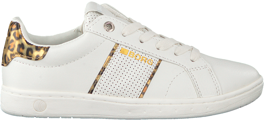 Witte BJORN BORG Lage sneakers T316 IRD LEO  - larger