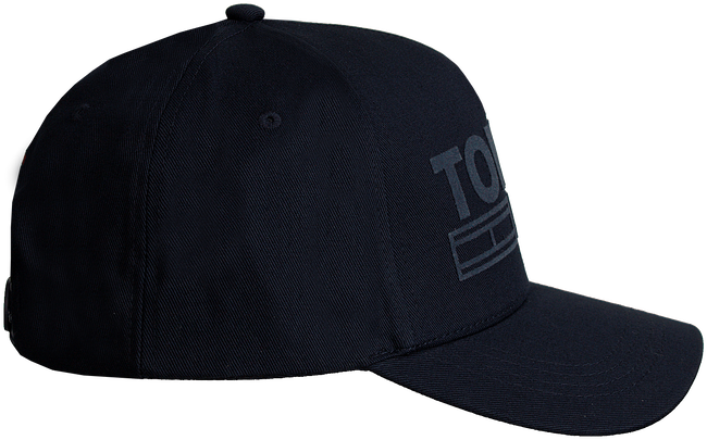 Zwarte TOMMY HILFIGER Pet TJU FLOCK CAP  - large