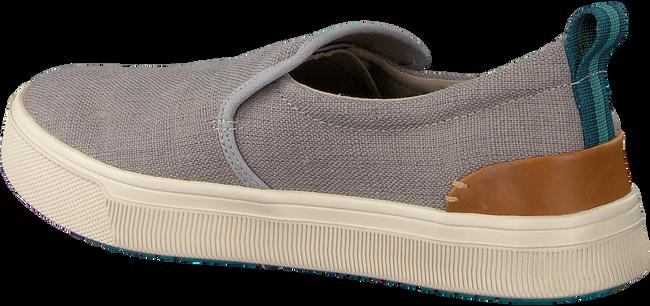 Grijze TOMS Sneakers TRVL LITE LOW MEN SLIP-ON - large