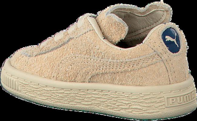 Beige PUMA Sneakers PUMA X TC BASKET FURRY  - large