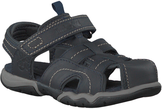 Blauwe TIMBERLAND Sandalen OAK BLUFFS LEATHER FISHERMAN  - large