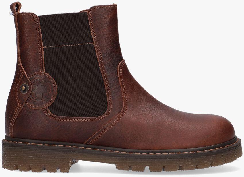 Cognac DEVELAB Chelsea boots 41961  - larger