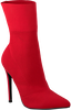 Rode STEVE MADDEN Enkellaarsjes CENTURY ANKLEBOOT - small