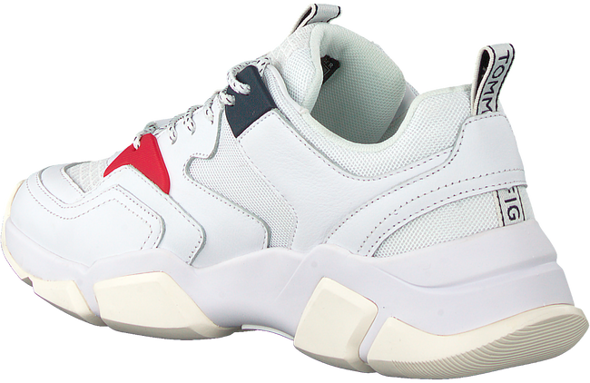 Witte TOMMY HILFIGER Sneakers CHUNKY LIFESTYLE WMN  - large