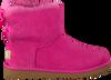 Roze UGG Enkelboots MINI BAILEY BOW II KIDS - small