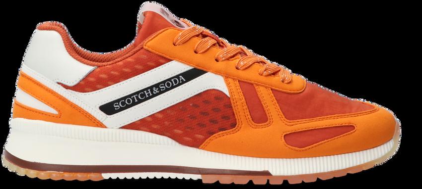 Oranje SCOTCH & SODA Lage sneakers VIVEX  - larger