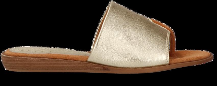 Gouden UNISA Slippers ACHO  - larger