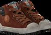 Cognac DEVELAB Hoge sneaker 41609  - small