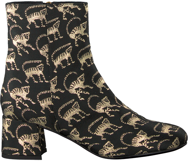 Zwarte FABIENNE CHAPOT Enkellaarsjes AURORA BOOT JAQUARD - large