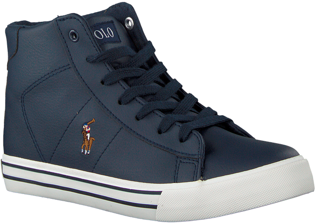 Blauwe POLO RALPH LAUREN Sneakers EASTEN MID - large