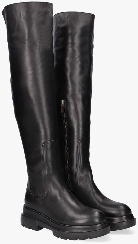 Zwarte SHABBIES Overknee laarzen 192020119  - larger