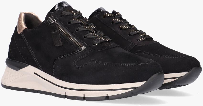 Zwarte GABOR lage sneaker 588 - larger