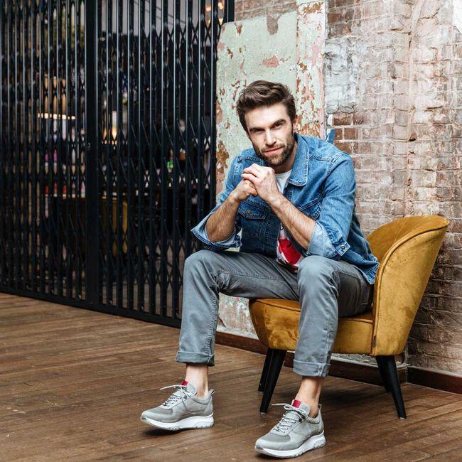 Grijze NUBIKK Sneakers ELLIS NEZHA  - large