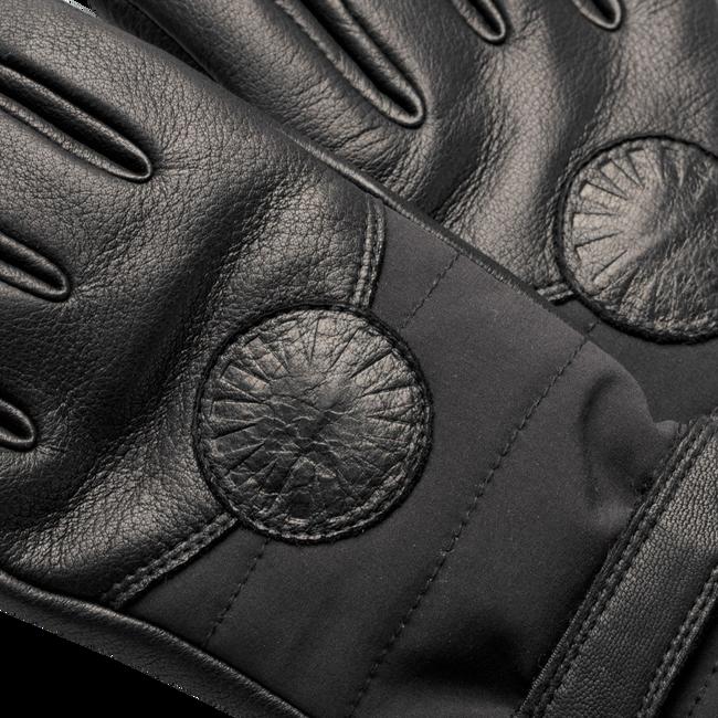 Zwarte UGG Handschoenen PERFORMANCE SMART GLOVE WITH F - large