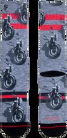 Grijze XPOOOS Sokken MOTOR  - medium