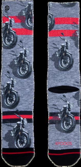 Grijze XPOOOS Sokken MOTOR  - large