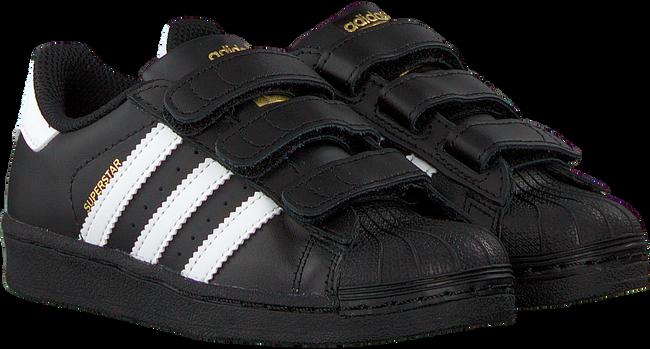 Zwarte ADIDAS Sneakers SUPERSTAR CF C  - large