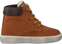 Cognac DEVELAB Hoge sneaker 41855  - medium