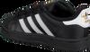 Zwarte ADIDAS Sneakers SUPERSTAR KIDS 1  - small