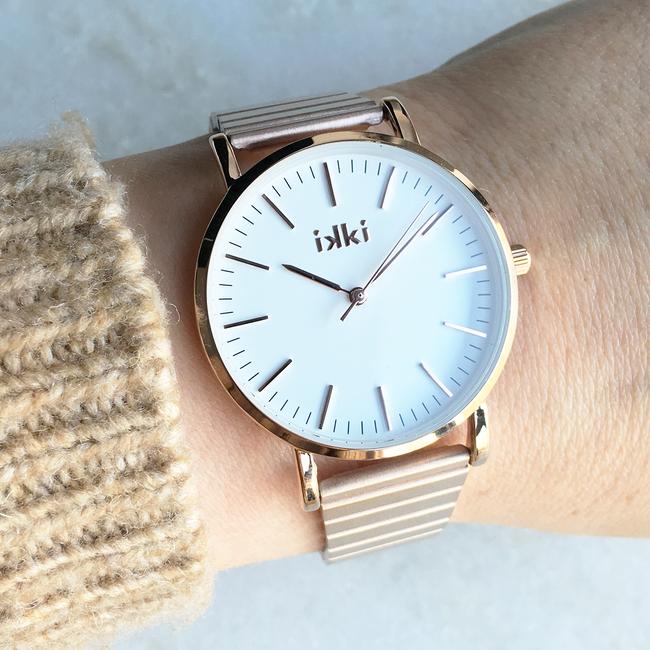 Roségouden IKKI Horloge JANET - large