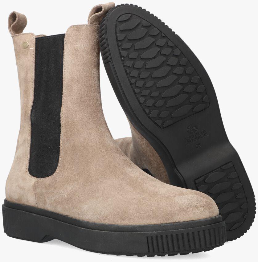 Taupe FRED DE LA BRETONIERE Chelsea boots 181010105  - larger